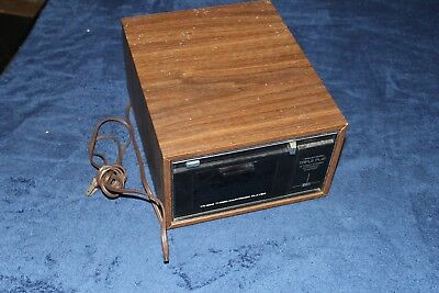 Vintage TR 888 3 cartridge player 8 track stereo antique music collectible