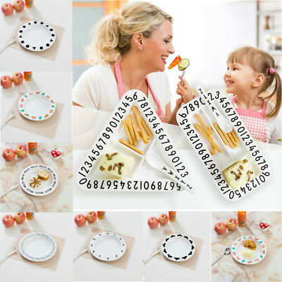 Silicone Dish Plate Baby Kids Food One-Piece Toddler Feeding Placemat Table Mat