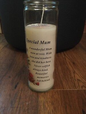 Memorial Candle In Loving Memory Of My Husband Remembrance