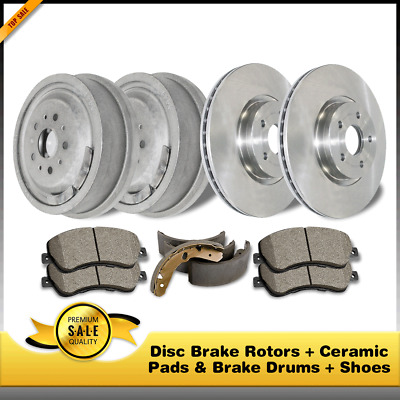 A0062 FIT 2004-2007 Scion XA XB CROSS DRILLED Brake Rotors Ceramic Pads FRONT