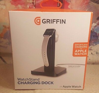 Griffin Apple Watch WatchStand Charging Dock GC41536 NEW
