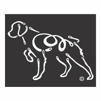 Brittany Spaniel K-Lines Dog Car Window Tattoo Decal Sticker