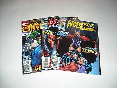 Wolverine Days of Future Past 1 2 3 Marvel COMPLETE SET Full Series 1997 Comics
