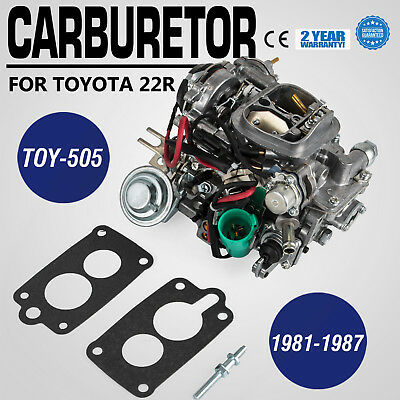 Carburetor Toy-505 For Toyota Pickup 22R 81-87 Automatic Choke 35290 Dc Vl