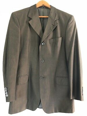 Hugo Boss Men's Sports Coat, Coffee color, US size 38R/Euro size 48 100% cotton