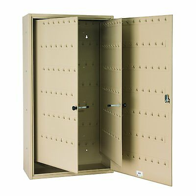 STEELMASTER Fob-Friendly Key Cabinet, 31.125 x 16.5 x 8 Inches, 310-Key Sand