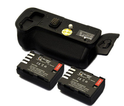 Vertical Battery Grip for Panasonic DMC-GH3 GH3 GH4 +2pcs Battery DMW-BLF19