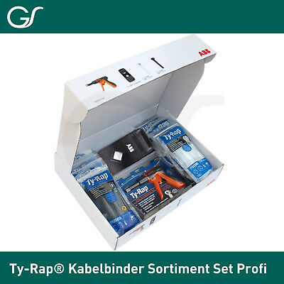 Thomas & Betts Ty-Rap® Kabelbinder Sortiment Set  Profi Kit Kabelbinder Zange