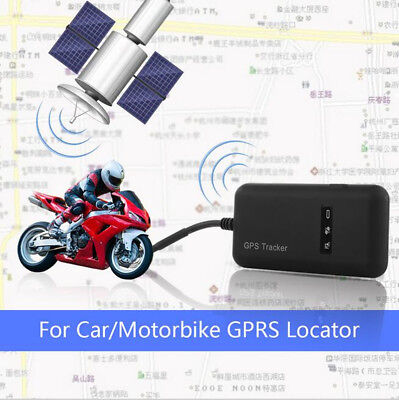 Mini GSM / GPRS GPS Anti-theft SMS Real Time Tracking Tracker Motorcycle Vehicle