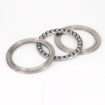 51134 170x215x34mm Axial Ball Thrust Bearing Set(2 Steel Races + 1 Cage)ABEC-1