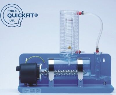 Quickfit® glass, UK made Lab budget water still , not Merit or W4000 Laboratory
