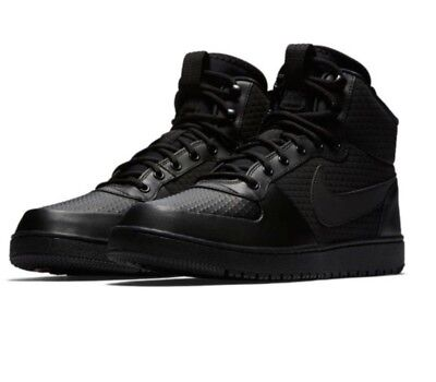 Nike Court Borough Mid Winter Outdoor Black AA0547 002 Men s Shoes Size 8 db5fc34568
