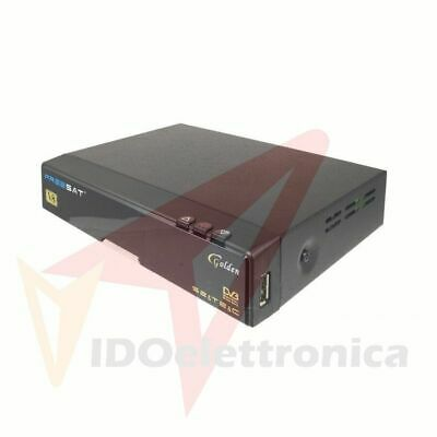 Iptv Dvb T2/S2 Full Hd 1080P Freesat V8 Golden Decoder Ricevitore Terrestre Ip