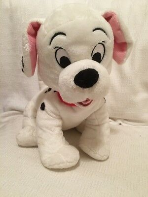Disney Store Stamped 101 Dalmatians Puppy Dog Cuddly Toy Plush Roly? 15""