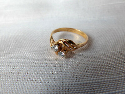 Brilliantring 14K Gold