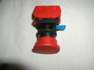 C3 controls Red Mushroom Head Push button Switch ,Maintained (22mm)