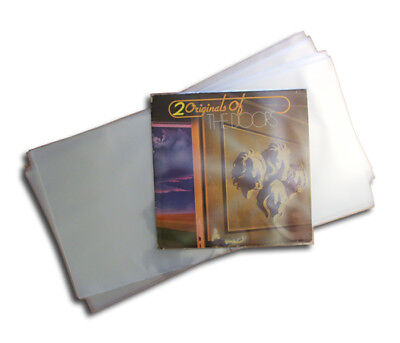 "Outer vinyl record plastic gatefold sleeves cover 12"" LP Clear plastic"