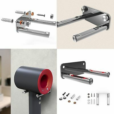 Wall Mount Rack Bracket Hair Dryer Holder Stand for Dyson Accessories Tool USA