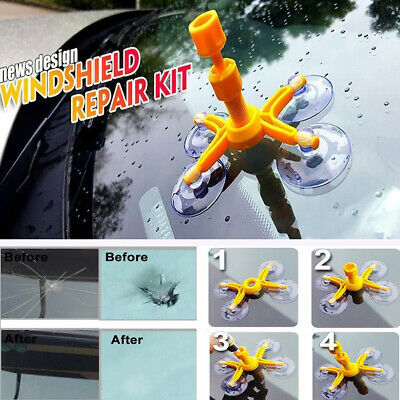 Premium Car Crack Windscreen Repair Kit DIY Wind Screen Chip Windshield Glass UK