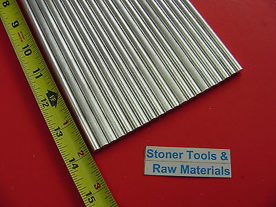 """100 pieces 1/4"""" ALUMINUM 6061 ROUND ROD 14"""" long T6511 Solid .25"""" Lathe Stock"""
