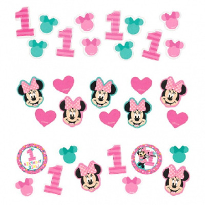 Disney Minnie Mouse Fun to be One 1st Birthday Party Confetti
