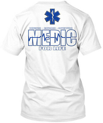 feb0c3a76 Medic For Life Ems Emt Paramedic - Patience Courage Premium Tee T-Shirt