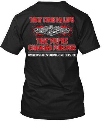 Submariner That Time In Life - United States Submarine Hanes Tagless Tee T-Shirt