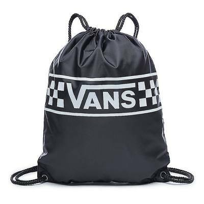 V00SUFP22, Saco sport (Gymsack) Vans – Benched Checking negro/blanco, Unisex, 20