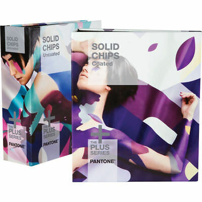 Pantone Solid Chips Coated & Uncoated Bundle (GP1606N) 2018 Edition *New*