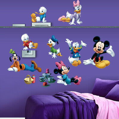 Micky Maus Wandtattoo Wandsticker XXL Mickey Mouse Kinderzimmer Minnie Party