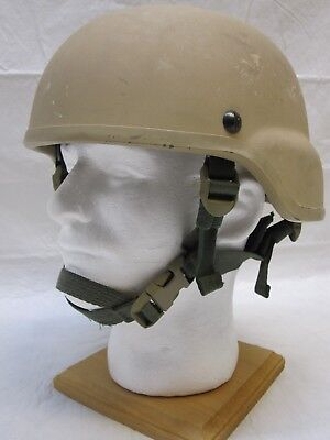 Msa Mich Made With Kevlar Ach Tactical Advanced Combat Helmet Tan Large Tc 2000