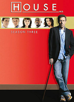 House - Season Three (DVD 5-Disc Set) BRAND NEW and SEALED!!!