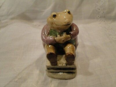 Beatrix Potter Mr. Jackson, 1974, Beswick, England, Exc. Cond. Smiling Frog