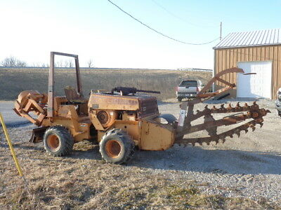 CASE 360 TRENCHER vibratory plow case trencher Ditch witch chain hydra bore  kit