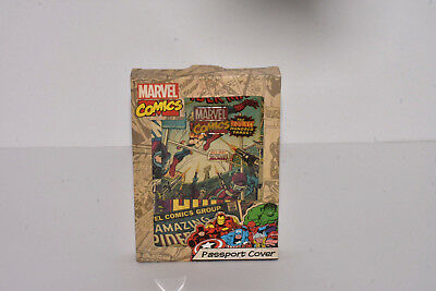 Marvel Comics Retro Passport Holder from BB DESIGNS
