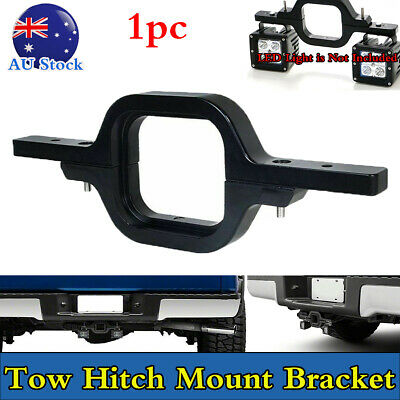 Backup Reverse Tow Hitch Bracket For Offroad 4x4 Truck SUV Led Work Light Clamps