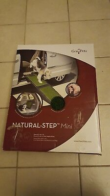 "Gen7Pets 42"" Natural-Step Mini Pet Ramp with artificial turf holds up to 200 lbs"