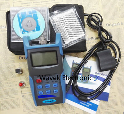 JW3216A Fiber Optic handheld Optical Power Meter Tester -70 ~ +6dBm USB