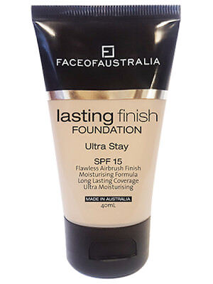 FACE OF AUSTRALIA Vegan - NATURAL IVORY - Lasting Finish Foundation + SPF15