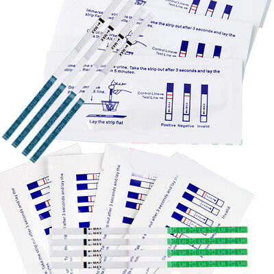 60x Ovulation Fertility Predictor + 30Pcs Early Pregnancy Urine Test Set Strips