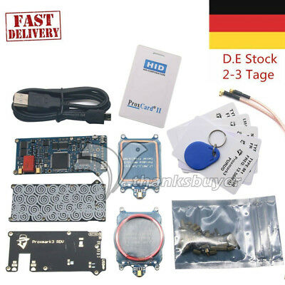 Open Source Proxmark3 V2 DEV kit Device RFID Reading Tags EU Ship DE DHL