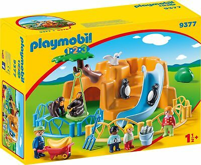 Playmobil 1.2.3 9377 Zoo NEU & OVP