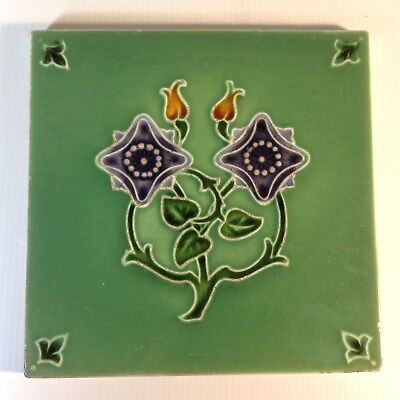 Nice Classic Antique Art Nouveau Tile