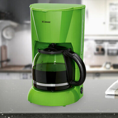 Coffee Machine Filter Brew Automat 900 W 12-14 Cups Glass Jug Switch Green