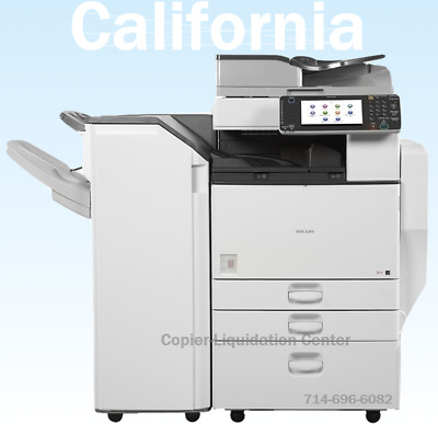 Ricoh MPC5502,MPC5502 Color Copier, Print, Scan, Speed 55ppm, very low meter