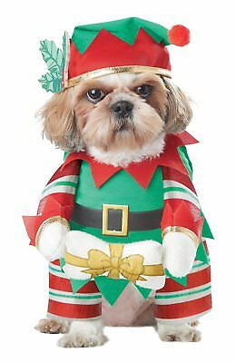 California Costume Collections Elf Pup Dog Costume, Small