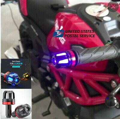 0.5W 3 Colors LED Hand Block Turn Signal Light for Motorcycle Scooter Handlebar