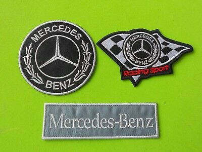 Mercedes Benz  Patch Kit 3 Toppe Ricamate Termoadesive