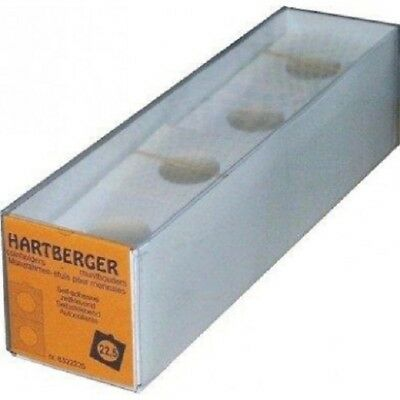 Hartberger Self adhesive coin holders - pack of 100 sizes from 15mm to 39.5mm