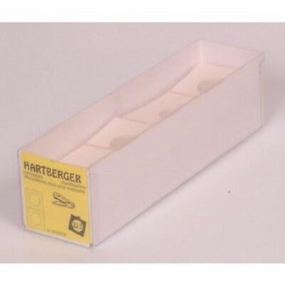 Hartberger Non adhesive coin holders - pack of 100 sizes from 15mm to 39.5mm